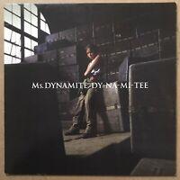 "MS. DYNAMITE Dy-Na-Mi-Tee - 12"" Vinyl - RnB - DEEP HOUSE"