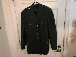 Vietnam Cold War Era US Army CLASS A Uniform Jacket Size 38 Regular Dated 1964