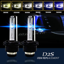 2 x D2S 35W Xenon Headlight Bulbs HID 85122 66040 Replacement AUDI BMW MERCEDES