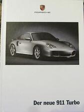 Original Prospekt Porsche : Der neue 911 Turbo 996 Stand 2001 (5)