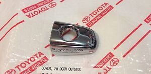 *NEW TOYOTA TACOMA 2013 2014 DRIVER FRONT DOOR CHROME HANDLE CAP COVER OEM