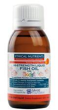 Ethical Nutrients Hi - Strength Liquid Fish Oil For Kids  Orange Flavour 90ml
