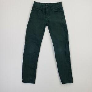True Religion 22x29 Womens 28 Jeans Super Skinny Stretch Green Pants Ladies