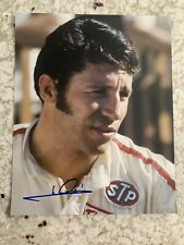 Mario Andretti Signed 8x10 Photo Autographed