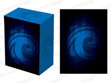 100 LEGION SUPER ICONIC WATER MATTE DECK PROTECTORS w/ DECK BOX Blue MTG Sleeves