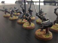 10 Uruk-hai Guerrieri Warriors Lord of the Ring