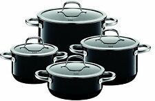 WMF SILIT Passion 8 Piece Cookware Set, Black Made in Germany