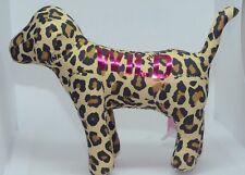 "Victoria Secret PINK Plush Collectible Dog 8.5"" Long Animal Leopard Print Wild"