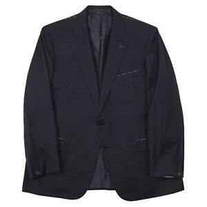 Brioni Regular-Fit Solid Charcoal Gray Wool Suit US 48R (Eu 58) NWT