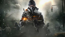 Game Tom clancys the division Silk Fabric Poster 24 X14 inch