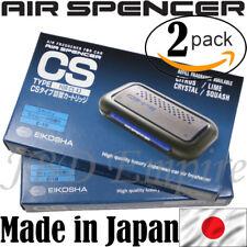 2 PACK JDM CS-X3 REFILL GENUINE EIKOSHA AIR SPENCER SQUASH SCENT AIR FRESHENER