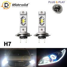 60W 6000K Super White H7 LED Headlight Bulb Kit High Power Halogen HID Replace