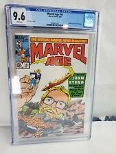 Marvel Age #14 CGC 9.6 NM+ Marvel Comics 1984 Fantastic Four #1 Homage Cover