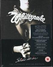 WHITESNAKE SLIDE IT IN THE ULTIMATE EDITION COFANETTO 6 CD+DVD NUOVO