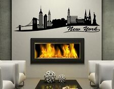 New York II City Skyline - cityscape highest quality wall decal stickers
