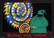 TIM BURTON THE  NIGHTMARE BEFORE CHRISTMAS 1993 VINTAGE LOBBY CARD #6