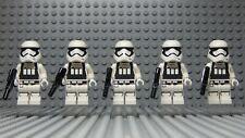LEGO Star Wars First Order Heavy Assault Stormtrooper Minifigures Lot 75132