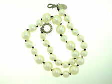 WHITE HOUSE BLACK MARKET FAUX GRADUATED PEARL BEADED NECKLACE