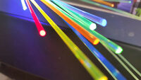"""Up to 10 """" PIECE 1mm or 1.5mm Fiber Optic Replace Sight Rods Choose Color(s)"""