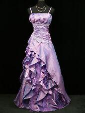 Cherlone Plus Size Purple Ballgown Wedding Evening Formal Bridesmaid Dress 24