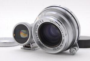 """EXC+++ w/ Case"" CANON 35mm f/3.2 1:3.2 Lens L39 LEICA SCREW Mount JAPAN"