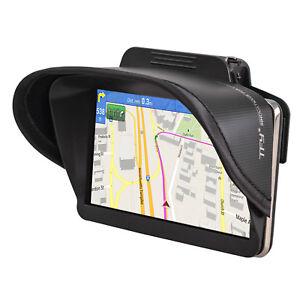 TFY Universal Clip GPS Navigation Sun Shade Visor for 4.3 - 5 Inch Vehicle GPS