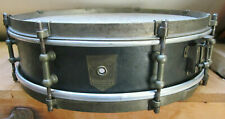 "Vintage 1920s Premier De Luxe Snare Drum 14"" - very rare Badge"