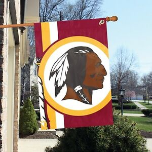 Washington Redskins 24 x 36 Bold Logo Banner Flag