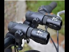 Deux Front Zoom Focus DEL Bike Lights Set For Mountain Road vélos BMX Vélos