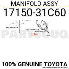 Genuine Toyota 87940-42C60-A1 Rear View Mirror Assembly