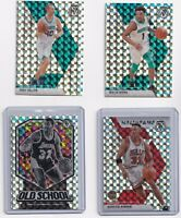 2019-20 Panini Mosaic Reactive Silver Prizm SP 4 Card Lot Magic Pippen & More.