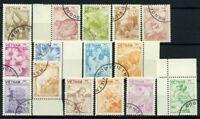 Vietnam 1984 Mi. 1529-1543 Usato 100% Natura animali