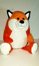 Hug Fun Flip Eye Fox Plush Lenticular Orange Soft Valentine Easter Wild Animal!