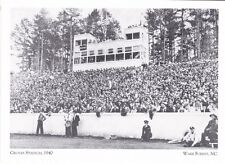 """*Postcard-""""Game @ The Groves Stadium, 1940""""  *Wake Forest, NC (#222)"""
