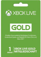 Xbox 360 Live 1 MONTH GOLD MEMBERSHIP CARD CODE 1 Month Key Card