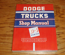 1953 Dodge Truck Service Shop Manual B-4 Series 53