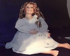 "Master Piece Gallery ""Christina"", 1999 Porcelain Doll by Pamela Erff NIB"