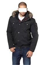 Jacke mit einer Kapuze mit Fellimitat ausgestattet,Northland,Gr.XL,100% Polyamid