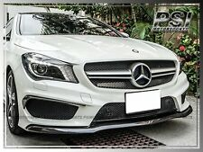 Mercedes-Benz CLA45 Only Carbon Fiber Front Lip Add-on Cover
