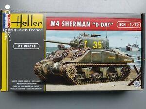 M4 SHERMAN 1/72 HELLER 2013
