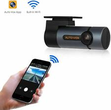AUTO-VOX Upgraded WiFi Dash Cam D6 Pro FHD 1080P Night Vision G-Sensor WDR Loop