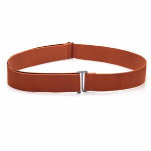 Women Adjustable Buckle-free Elastic Invisible Waist Belt Seamless Jeans Belt