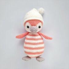Penguin Handmade Amigurumi Stuffed Animal Toy Knitting Crochet Doll