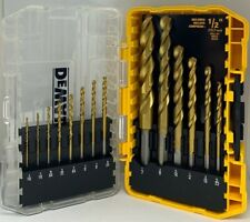 Titanium Pilot Point Drill Bit Set (14-Piece)