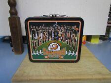"Rare Long Island Ducks ""Quackerjack"" SGA Masco Lunch Box Atlantic League"