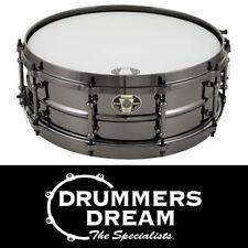 "Ludwig Black Magic 14x5.5"" Snare Drum Black-Nickel over Brass Shell LW5514DIR"
