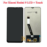 6.53 in For Xiaomi Redmi 9 LCD Display Touch Screen Repair Replacement Black NEW