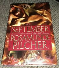 Rosamunde Pilcher September 1990 HCDJ, First Edition novel book VINTAGE ANTIQUE