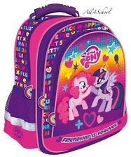 MY LITTLE PONY BACKPACK SCHOOL BAG RUCKSACK TRAVEL BAG FOR GIRLS KIDS