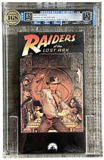 Indiana Jones Raiders of the Lost Ark 1989 Paramount Vhs Igs 8.5 7.5